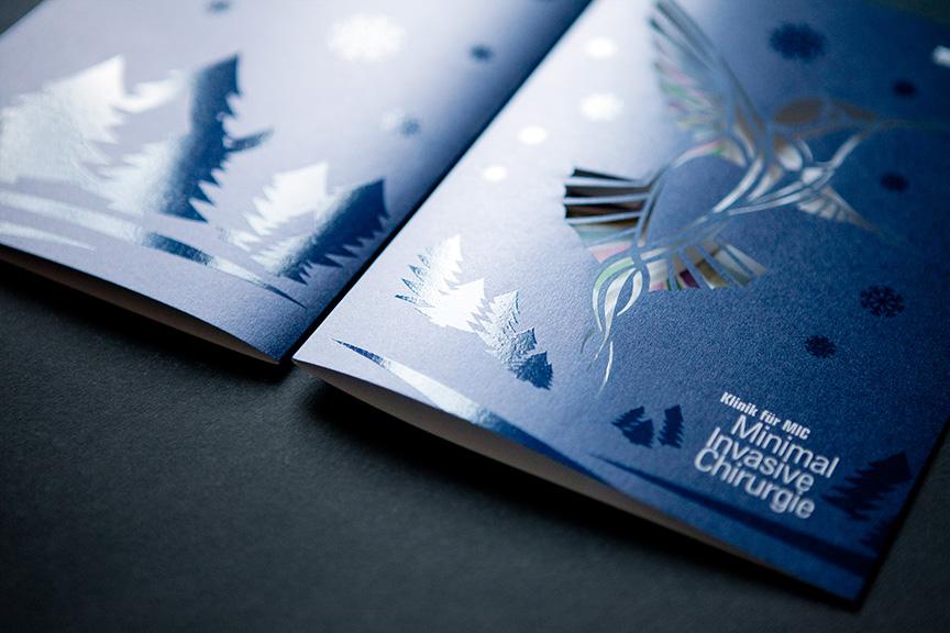 Klinik für MIC - Weihnachtskarte